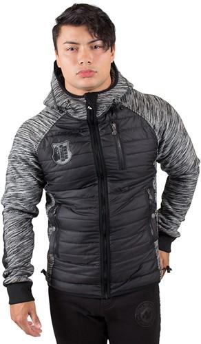 gorilla wear paxville jacket black gray model 1