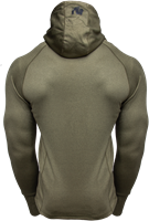 Gorilla Wear Bridgeport Zipped Hoodie - Army Green-2