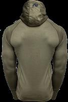 Gorilla Wear Bridgeport Zipped Hoodie - Legergroen-2