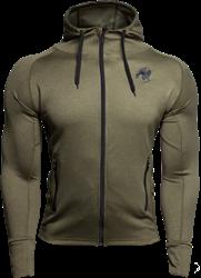 Gorilla Wear Bridgeport Zipped Hoodie - Army Green