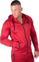 Gorilla Wear Bridgeport Zipped Hoodie - Rood-3