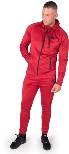 90810500-bridgeport-zipped-hoodie-red-set1