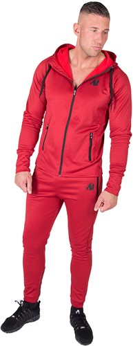 90810500-bridgeport-zipped-hoodie-red-set2