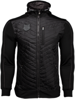 Gorilla Wear Jefferson Front Padded Jacket - Black/Gray