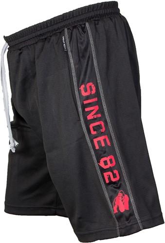 Gorilla Wear Functional Mesh Short (Black/Red)