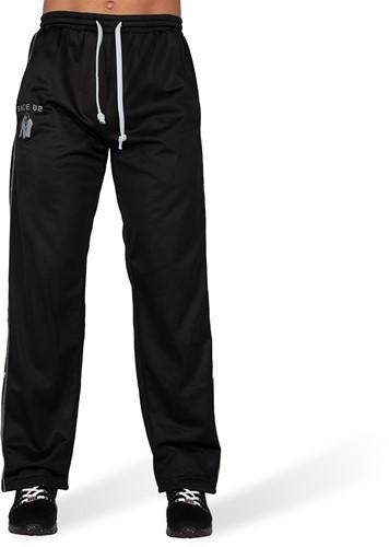 Gorilla Wear Functional Mesh Trainingsbroek - Zwart/Wit-2