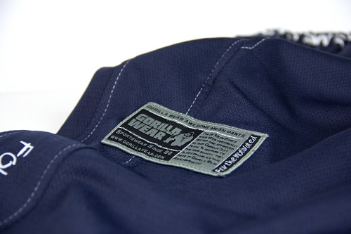 Gorilla Wear Logo Meshpants Blue-3