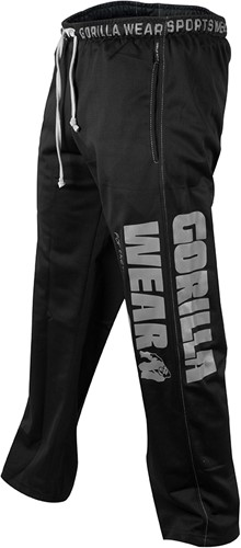 Gorilla Wear Logo Meshpants Black-2