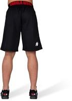 Gorilla Wear California Mesh Shorts - Zwart/Rood-3