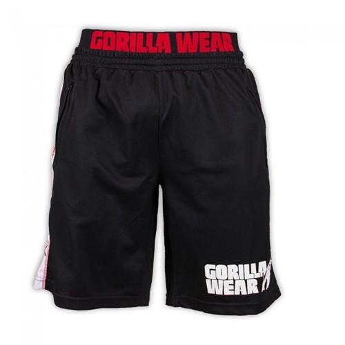 Gorilla Wear California Mesh Shorts Black/Red-2