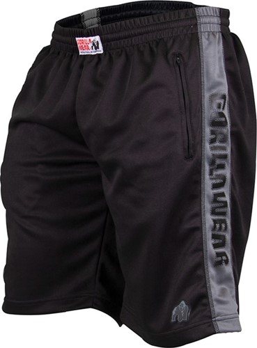 Gorilla Wear Track Shorts Black/Grey