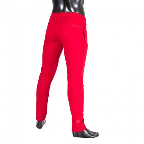 Gorilla Wear Classic Joggers Red-2