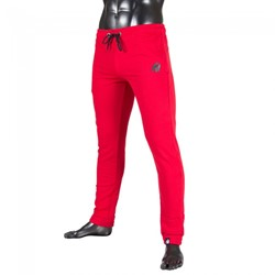 Gorilla Wear Classic Joggers Red