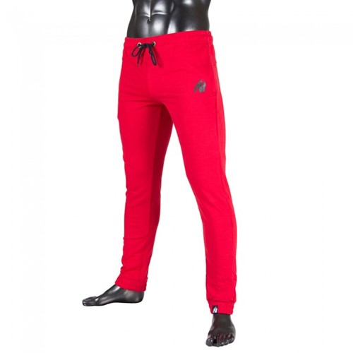 Gorilla Wear Classic Joggers Red