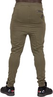 Gorilla Wear Alabama Drop Crotch Joggers - Army Green - M-2