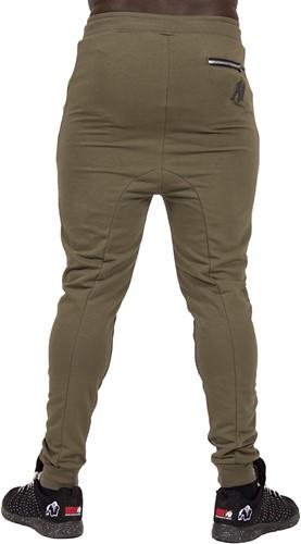 Gorilla Wear Alabama Drop Crotch Joggers - Army Green - 4XL-2