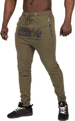 Gorilla Wear Alabama Drop Crotch Joggers - Army Green - 4XL-3