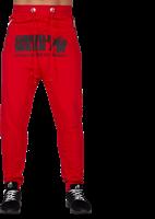 Gorilla Wear Alabama Drop Crotch Joggers - Red-2