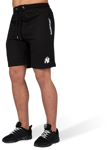 Gorilla Wear Pittsburgh Sweat Shorts - Zwart