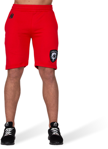 Gorilla Wear Los Angeles Sweat Shorts - Red-2