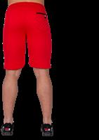 Gorilla Wear Los Angeles Sweat Shorts - Red-3