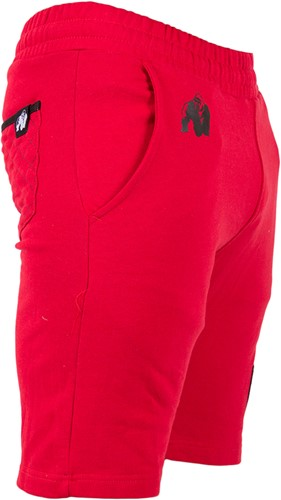 Gorilla Wear Los Angeles Sweat Shorts - Red-2