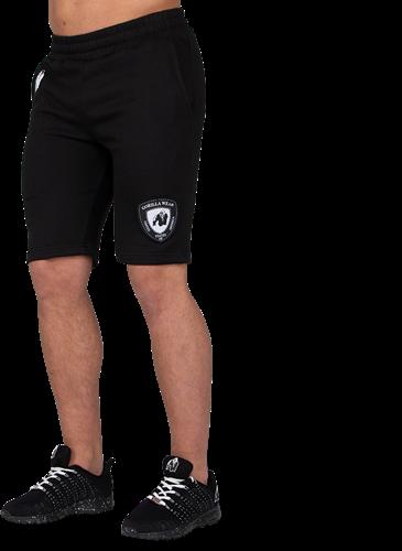 Gorilla Wear Los Angeles Sweat Shorts - Zwart
