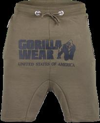 Gorilla Wear Alabama Drop Crotch Shorts - Army Green