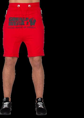 Gorilla Wear Alabama Drop Crotch Shorts - Red-2