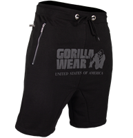Gorilla Wear Alabama Drop Crotch Shorts - Black