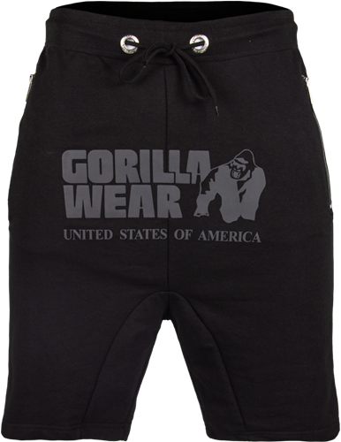 Gorilla Wear Alabama Drop Crotch Shorts - Black-2