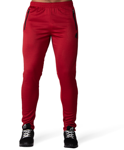 Gorilla Wear Ballinger Trainingsbroek - Rood/Zwart-2