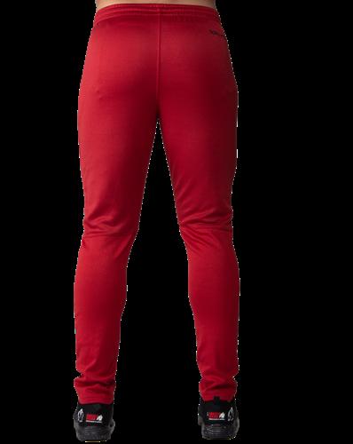 Gorilla Wear Ballinger Trainingsbroek - Rood/Zwart-3