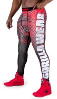 Gorilla Wear Bruce Men's Tights - Black/Red