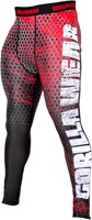Gorilla Wear Bruce Men's Tights - Black/Red-3