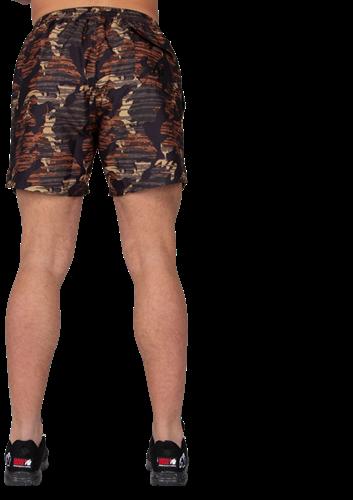 Gorilla Wear Bailey Shorts - Brown Camo-3