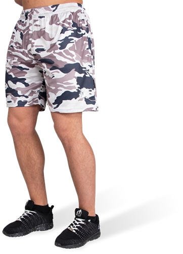 Gorilla Wear Kansas Shorts - Beige Camo