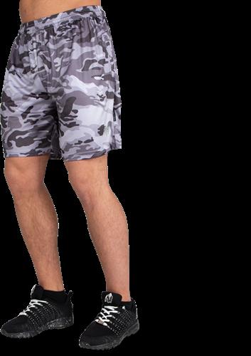 Gorilla Wear Kansas Shorts - Zwart/Grijs Camo