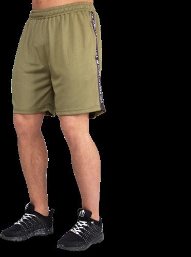 Gorilla Wear Reydon Mesh Shorts - Legergroen