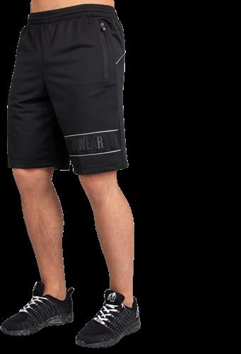 Gorilla Wear Branson Shorts - Zwart/Grijs