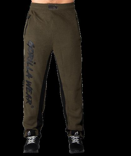 Gorilla Wear Augustine Old School Pants - Army Green-2