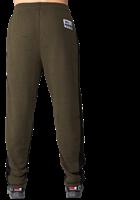 Gorilla Wear Augustine Old School Trainingsbroek - Legergroen-3