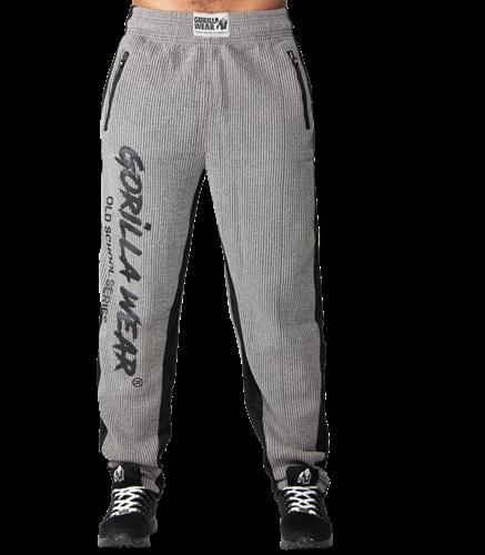 Gorilla Wear Augustine Old School Pants - Gray-2