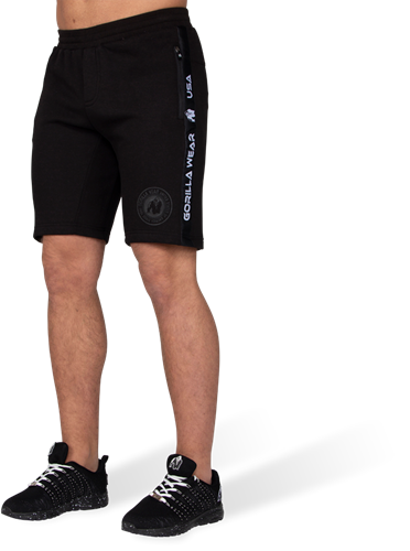 Gorilla Wear Saint Thomas Sweatshort - Zwart