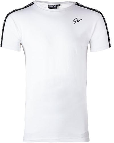 Gorilla Wear Chester T-Shirt - Wit/Zwart