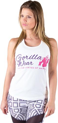 Gorilla Wear Womens Classic Tank Top White