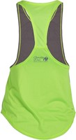 Gorilla Wear Florida Stringer Tank Top Gray/Neon Lime-3