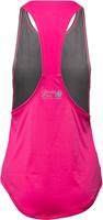 Gorilla Wear Florida Stringer Tank Top - Gray/Pink-2
