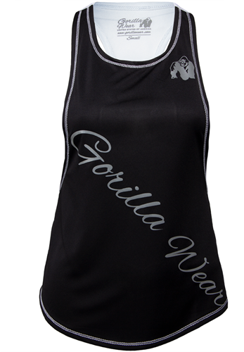 Gorilla Wear Florida Stringer Tank Top Black/White