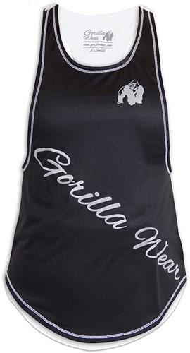 Gorilla Wear Florida Stringer Tank Top Black/White